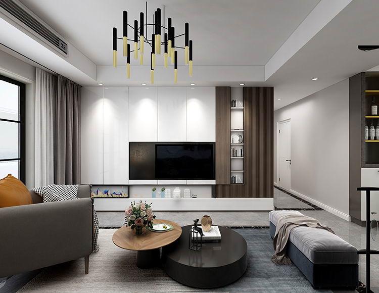 万国城115平米四室两厅现代风格