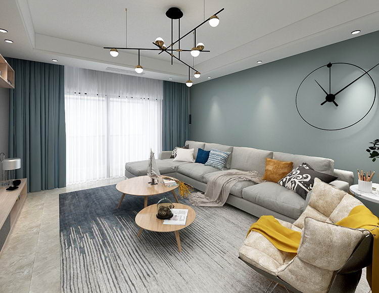 同景国际160平米四室两厅现代风格