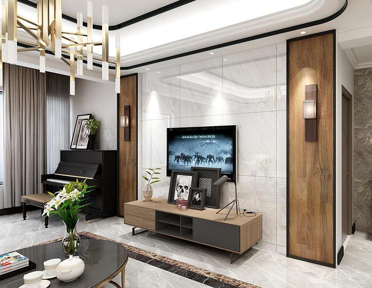 金辉城118平米四室两厅现代轻奢风格